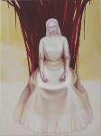 Lucie Ferliková, Empress Virgin Mary Flora, acryl on canvas, 140x190cm, 2012