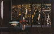 Lucie Ferliková, Up, collage, 32x51,8cm, 2007