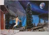 Lucie Ferliková, Soul of Harpy, collage, 23,3x45cm, 2007