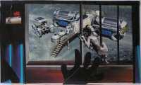 Lucie Ferliková, Future, collage, 31x51cm, 2007