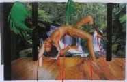 Lucie Ferliková, Bygone n.4, collage, 29,5x46,5cm, 2007