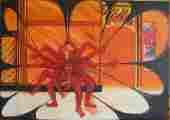Lucie Ferliková, Kali-Medea, acrylic colour on canvas, 45x35cm, 2006