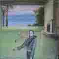 Lucie Ferliková, Z dipl. práce Amalgam, sololit, akryl, 34,5x34,5cm, 2005
