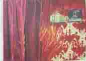Lucie Ferliková, from dissertation Amalgam , acrylic colour on fibreboard, 138x116cm, 2005