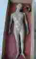 Lucie Ferliková, Infantka jako modla a náhrobni socha, hlína, výška 130cm, 2003