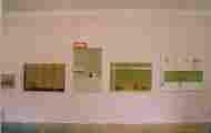 Lucie Ferliková, Pohled do instalace bakalářské práce - téma Absolutní slast, 2003