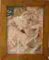 Lucie Ferliková, Z bakalářské práce Absolutní slast, koláž, 45x36cm, 2003