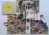 Lucie Ferliková, Strašný dům, různé materiály, 2002