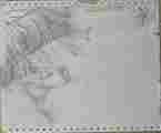 Lucie Ferliková, Dream, marker on paper,, 30x25cm, 2001