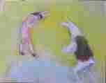 Lucie Ferliková, Ze série Alenka, pastel na papíře, 30x40cm, 2000