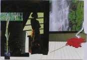 Lucie Ferliková, Bygone n.2-invasion of nostalgia, collage, 30x43,5cm, 2007
