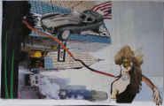 Lucie Ferliková, Beast NY, collage, 31,7x50cm, 2007