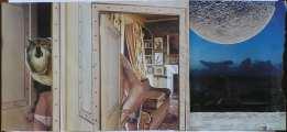 Lucie Ferliková, Moon tension, collage, 28,4x63cm, 2007