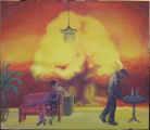 Lucie Ferliková, Explosion, acrylic colour on canvas 75x65cm , Chrismas 2007